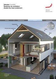 Zehnder ComfoKit Systèmes de ventilation double flux haut rendement