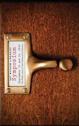 Download Symposium Brochure - Peabody Essex Museum