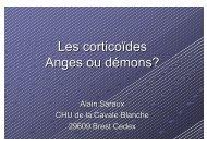 Les corticoïdes Anges ou démons? - Impact Santé