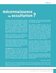méconnaissance ou occultation ? - Art Absolument