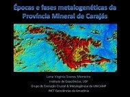 Épocas e fases metalogenéticas da Província Mineral de ... - ADIMB