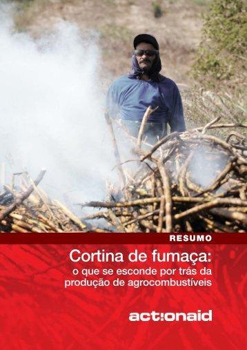Cortina de fumaça: - ActionAid Brasil