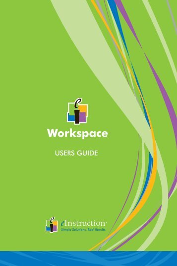 Workspace Getting Started Guide