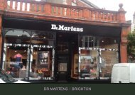 DR MARTENS – BRIGHTON - Space Retail Property Consultants