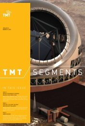 March 2011 - Thirty Meter Telescope