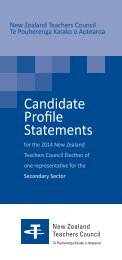 NZTC 2014 Secondary sector profiles DL booklet v6