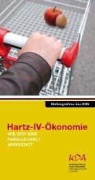 Hartz-IV-Ökonomie - Kirchlicher Dienst in der Arbeitswelt