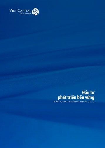 Báo cáo thường niên 2012 - Vietstock