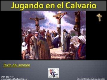Ayuda Visual - Iglesia Biblica Bautista de Aguadilla, Puerto Rico