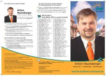 (FW) im Landkreis Eichstätt - Freie Wähler Bayern