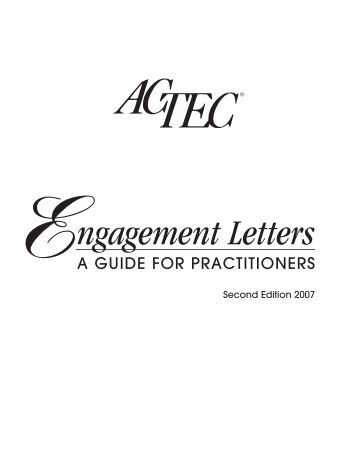 actec engagement letters 2nd ed american college of trust