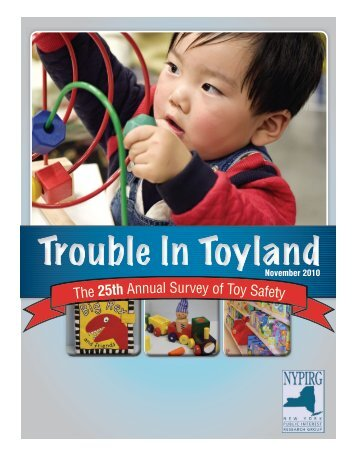 Trouble in Toyland - NYPIRG