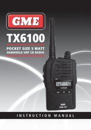 TX6100 - GME