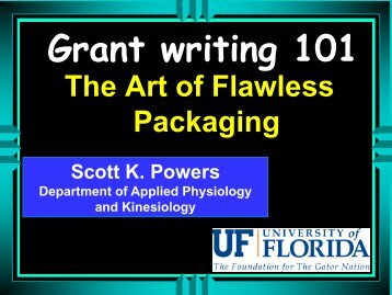 Grant Writing 101 PowerPoint Presentation - Department of ...