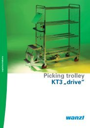 """Picking trolley KT3""""drive"""" - Expedit"""
