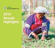 2010 Annual Highlights