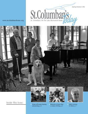 Spring/Summer 2012 Newsletter - St. Columban's on the Lake ...
