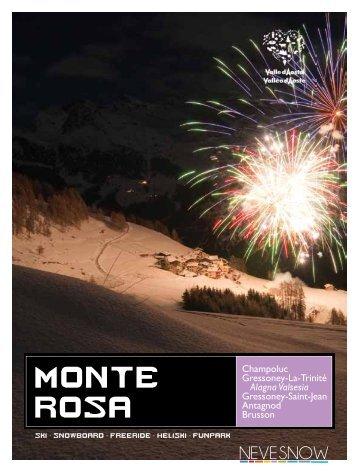monte rosa - Valle d'Aosta