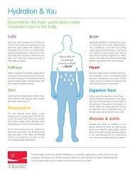 Hydration & You - Coca Cola