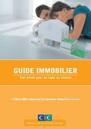 Guide immobilier 2006 - CIC