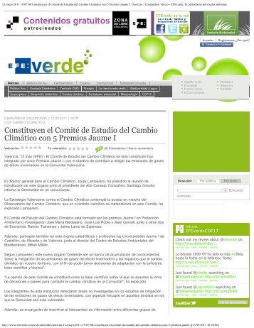 12 mayo 2011 19:07:00 Constituyen el Comité de Estudio del ...