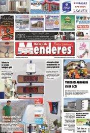 14 Ağustos tarihli Küçükmenderes Gazetesi