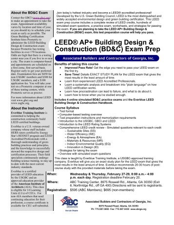 Guide To The LEED AP Interior Design And Construction IDC Exam