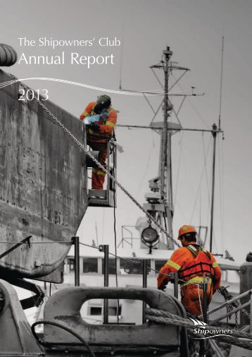 Annual Report 2013 - Shipowners