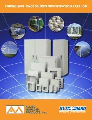 Allied Moulded Fiberglass Enclosures Catalog - Solutions Direct