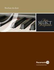 Brochure du client - CI Investments