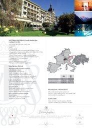 VICTORIA-JUNGFRAU Grand Hotel & Spa a colpo d'occhio ...