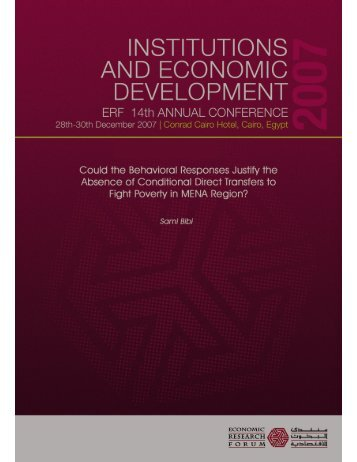 View - Economic Research Forum