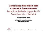 100420 AKEUR IT-Compliance - GI Regionalgruppe Köln