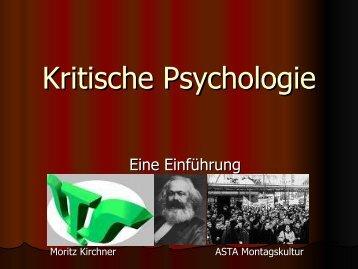 Kritische Psychologie - AStA