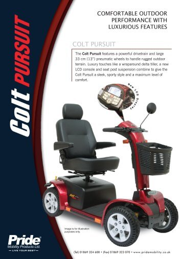 COLT PURSUIT - Pride Mobility UK