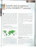 Growth and Acceptance of the ISASMELT Process - Page 2