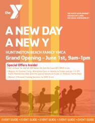 Grand Opening - June 1st, 9am-1pm - YMCA of Orange County