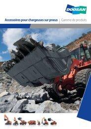Accessoires pour chargeuses sur pneus - Doosan Construction ...