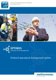 OPTIMUS Enterprise Asset Management - Mettenmeier GmbH