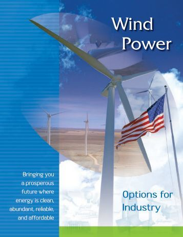 Wind Power: Options for Industry - Wind Powering America