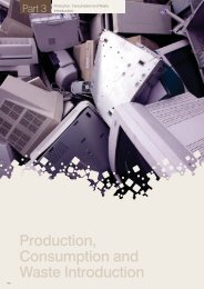 Production, Consumption and Waste Introduction - Commissioner ...