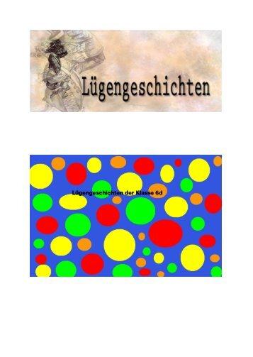 """""""Lügengeschichten"""", Klasse 6d (pdf)"""