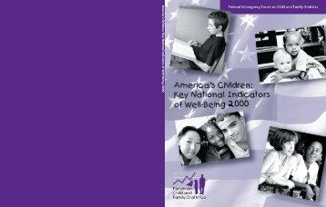 America's Children - NICHD - National Institutes of Health