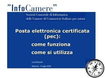 Posta elettronica certificata (pec): come funziona come si utilizza