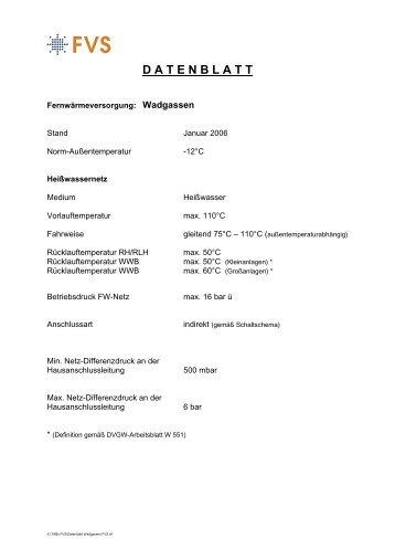 Datenblatt Wadgassen - STEAG Power Saar GmbH