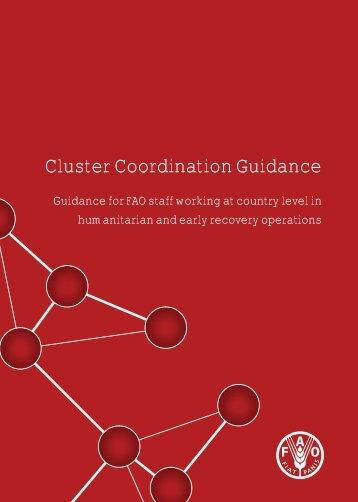 FAO Cluster Coordination Guidance - ReliefWeb