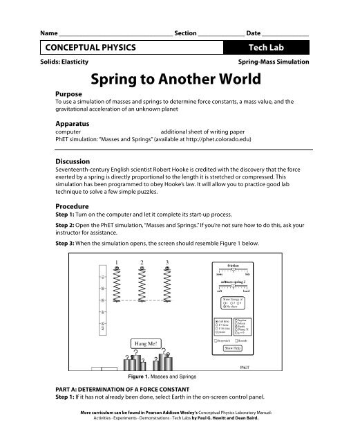 Spring to Another World pdf - Explore Sound