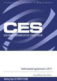 Working Paper CES VÅEM No 9/2005