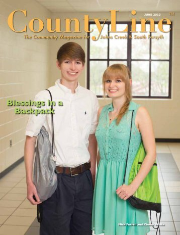 Blessings in a Backpack - County Line Magazine