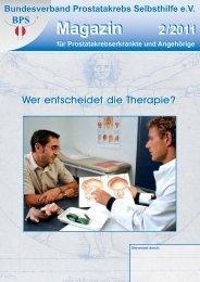 Wer entscheidet die Therapie? - Urologenportal